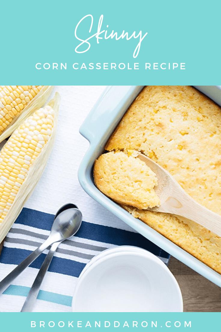 Skinny Corn Casserole Recipe