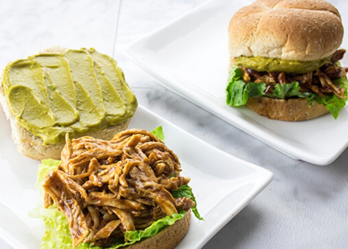 image of barbecue chicken sandwich