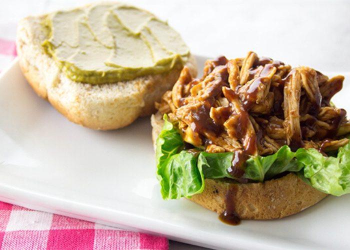image of bbq chicken sandwich