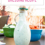 Greek Yogurt Ranch Dressing Recipe featured image