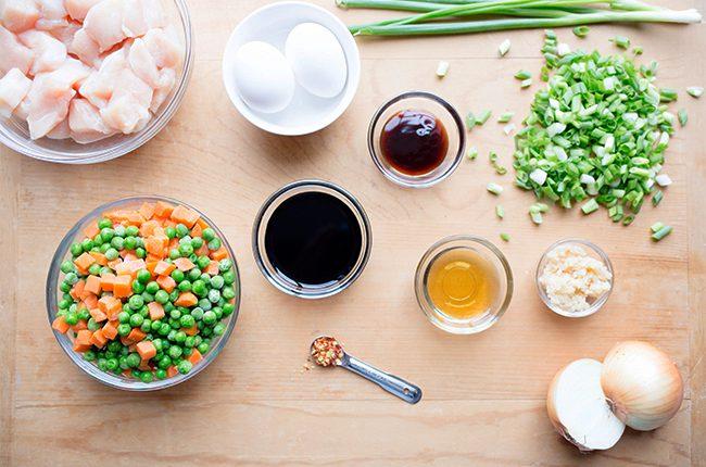 skinny chicken fried rice ingredients