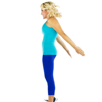 fitness for women squat jump