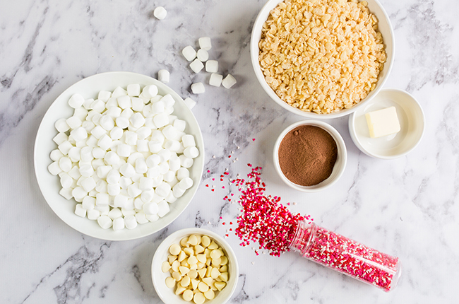 chocolate rice crispy treats ingredients