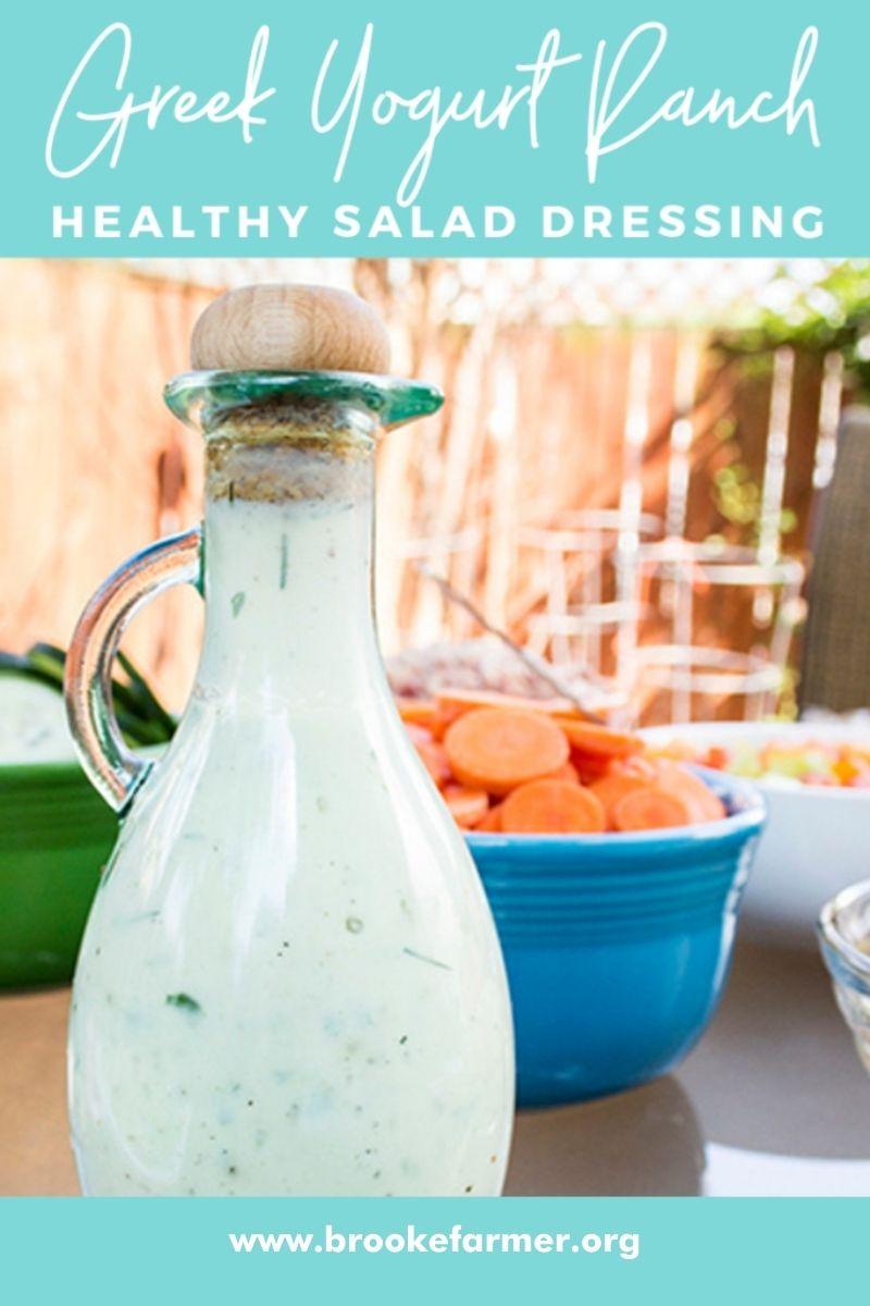 Healthy Greek Yogurt Salad Dressing