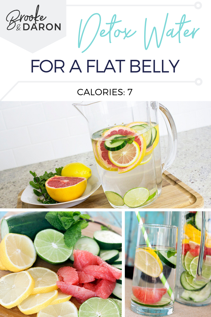 Detox Water for Flat Belly | Easy