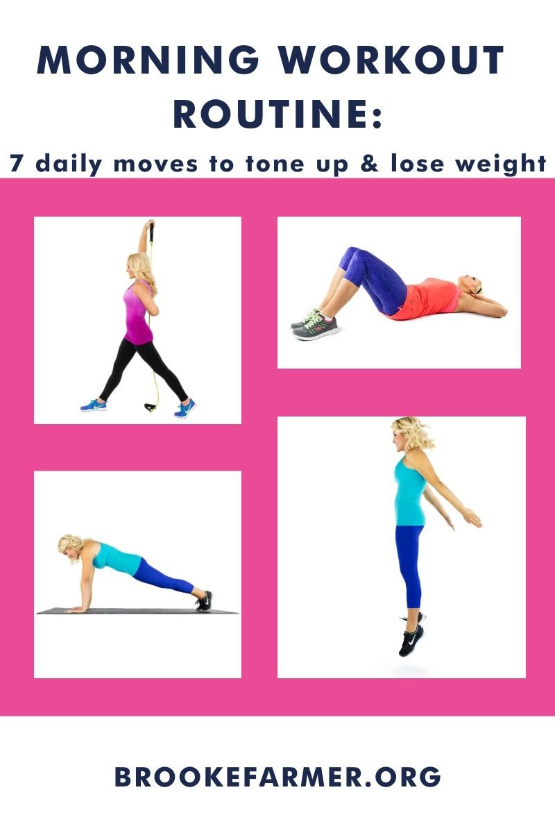Morning Workout Routine: 7 Moves to Lose Weight and Tone