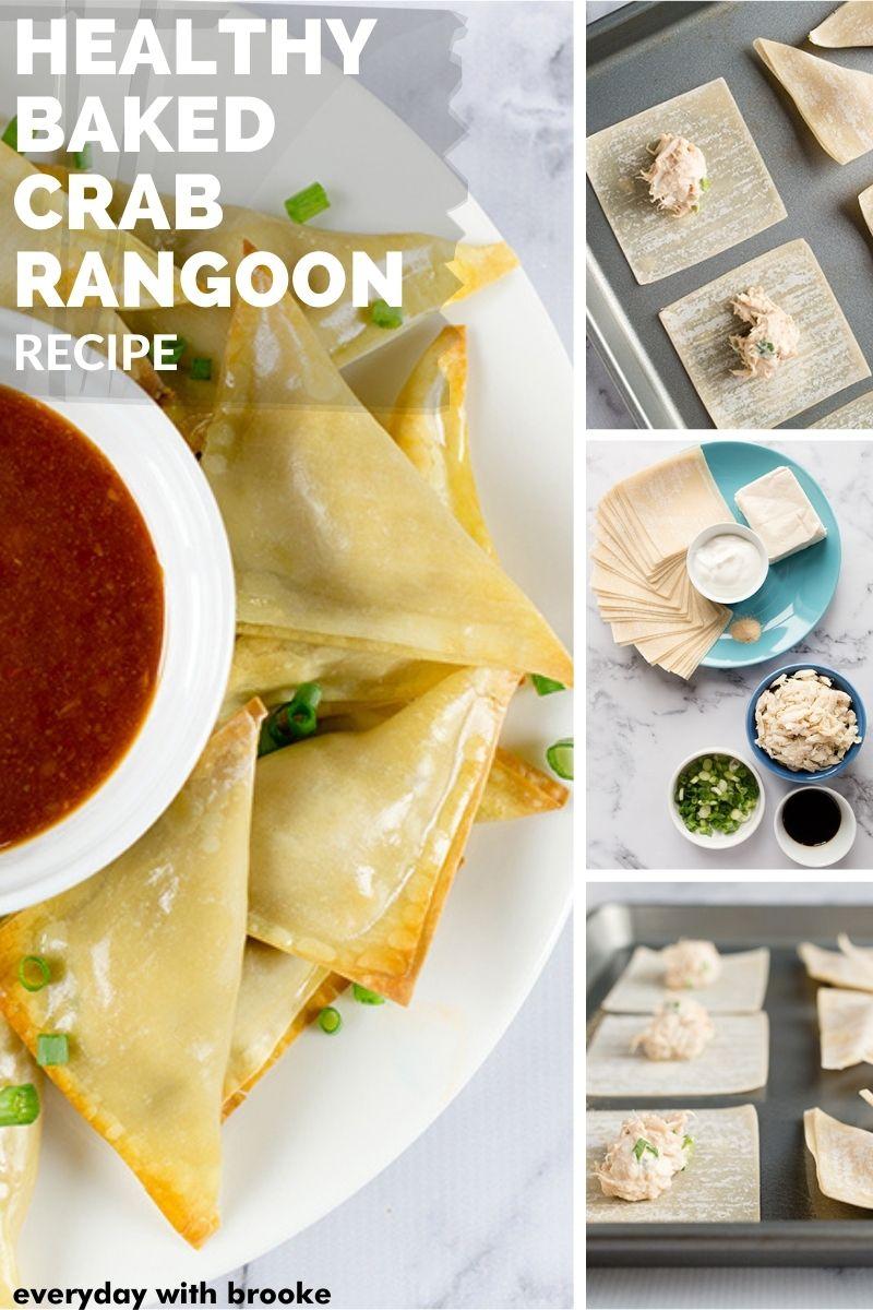 Healthy Baked Crab Rangoon Recipe