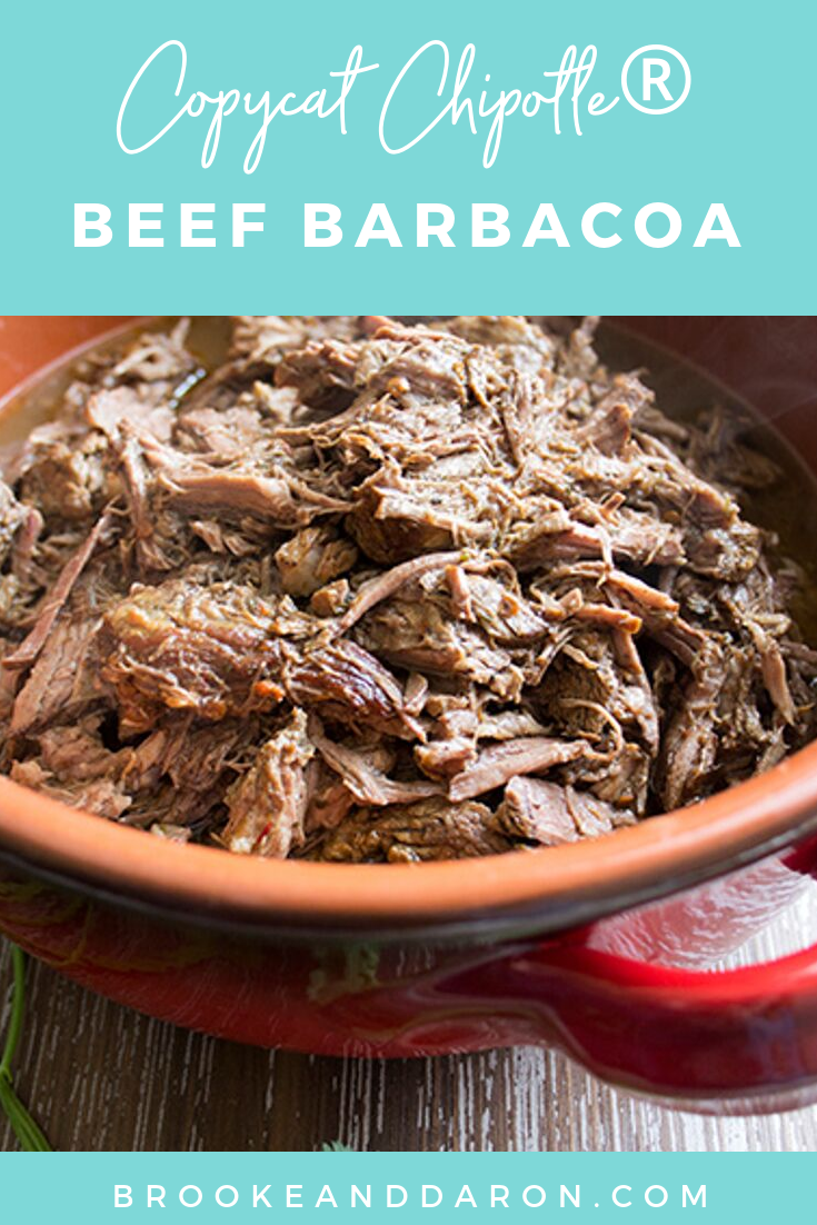 How to make Copycat Chipotle® Barbacoa Recipe