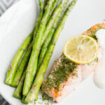 Poached Lemon Dill Salmon Recipe