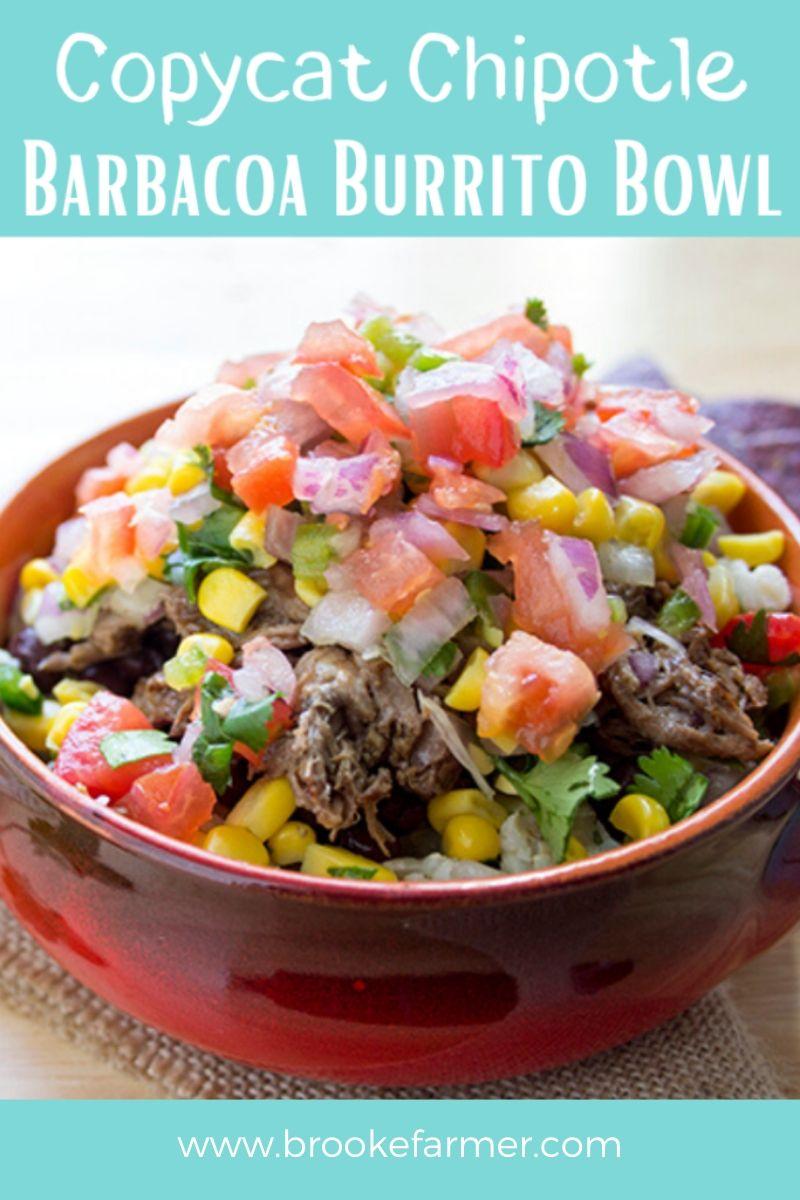 Copycat Barbacoa Burrito Bowl