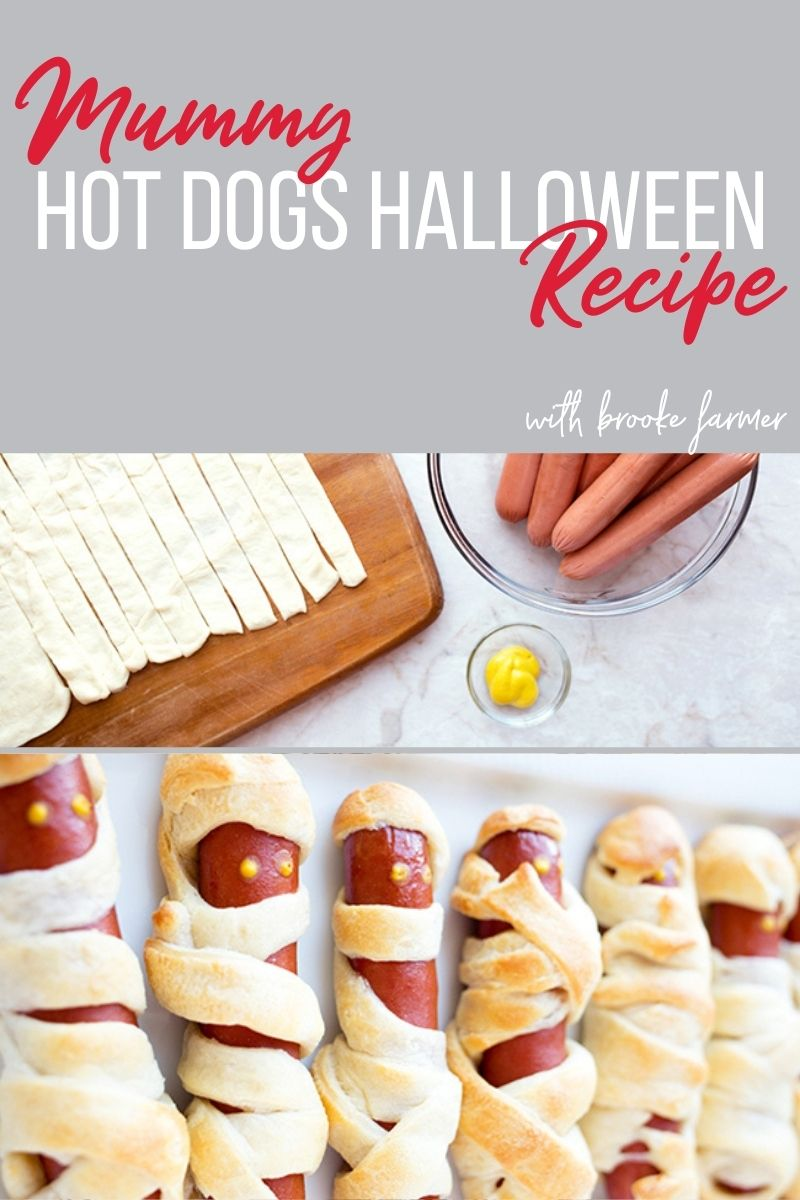 Mummy Hot Dogs Halloween Recipe