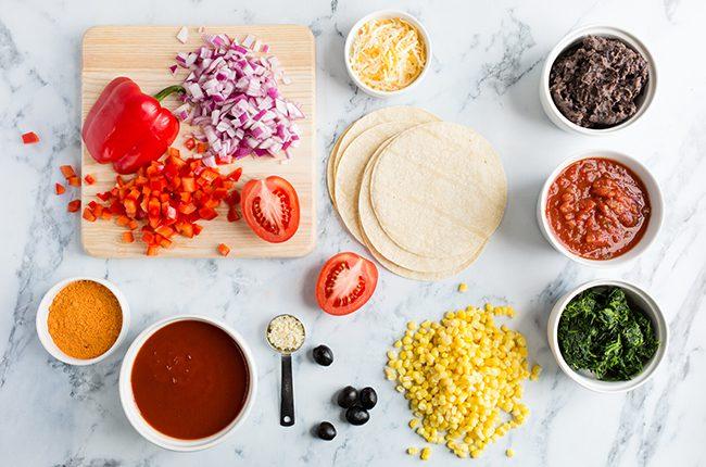 ingredients for mexican lasagna recipe