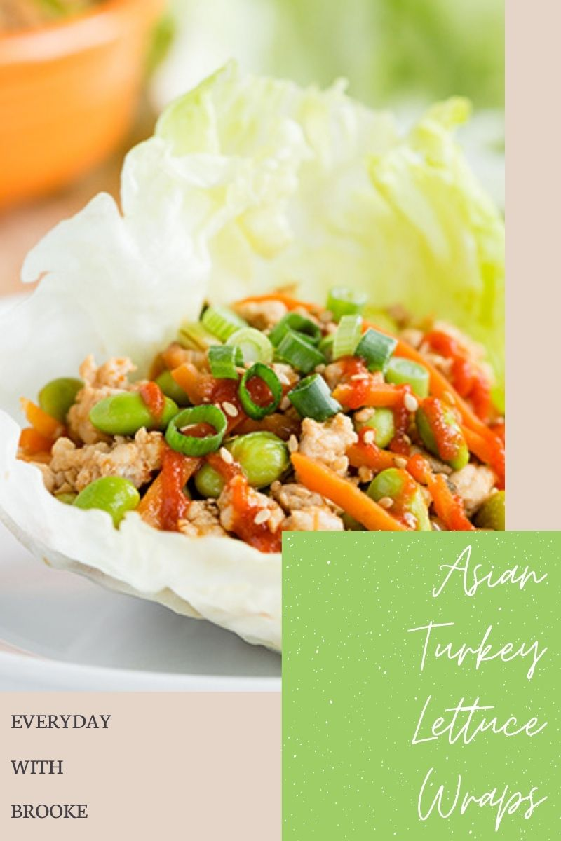 Asian Turkey Lettuce Wraps | Low Carb