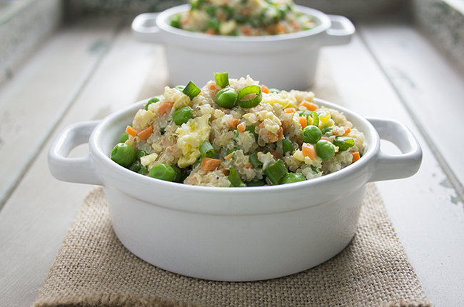 image of quinoa fried rice