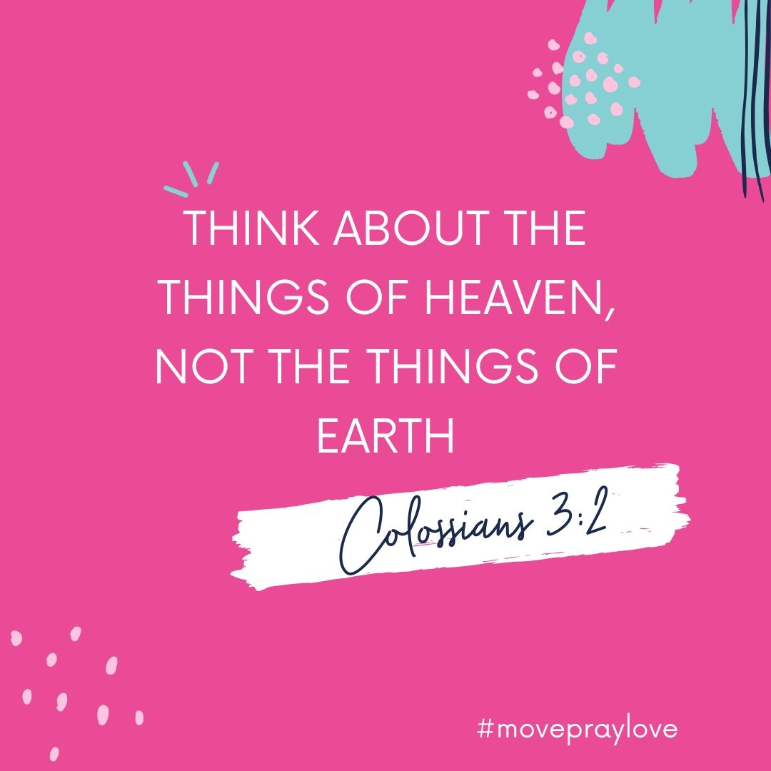 image of scripture to stop overthinking