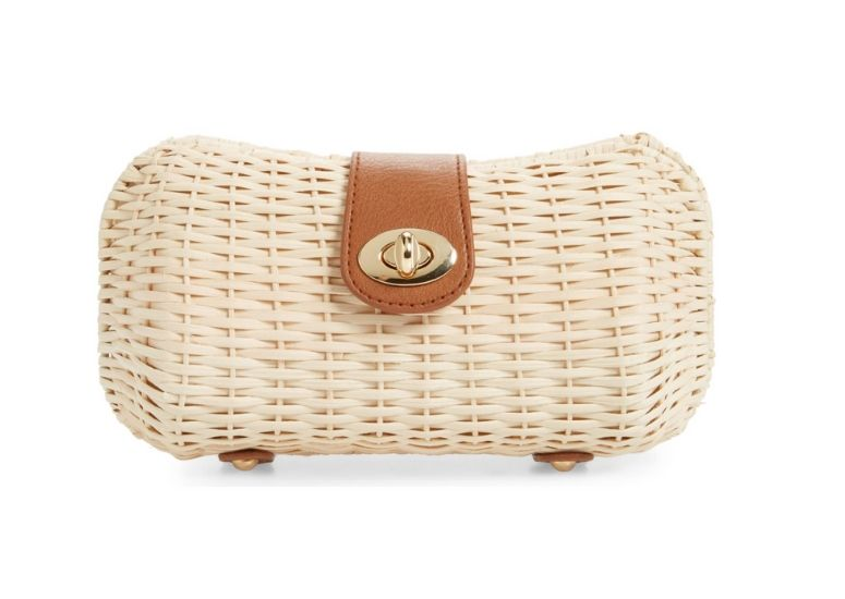 Image of Wicker Clutch for Summer Must-Haves