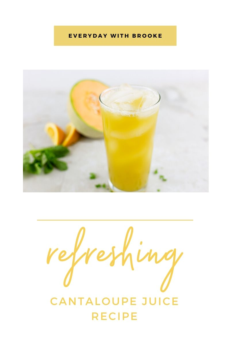Refreshing Cantaloupe Juice Recipe I usually do not prefer the juice because i like to eat this fruit as such. refreshing cantaloupe juice recipe