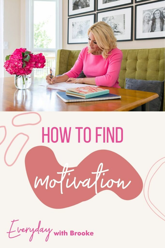 how to find motivation tips pinterest pin
