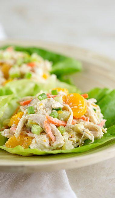 Low calorie asian salad