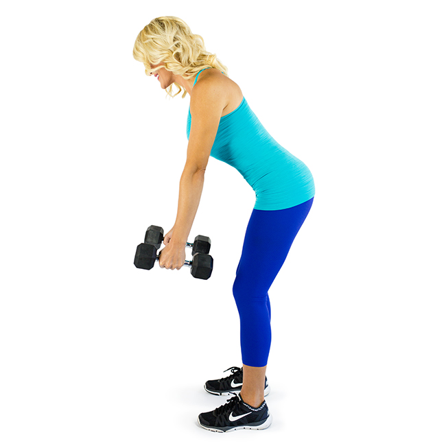 Bent Over Row Exercise to Remove Back Fat with Pictures