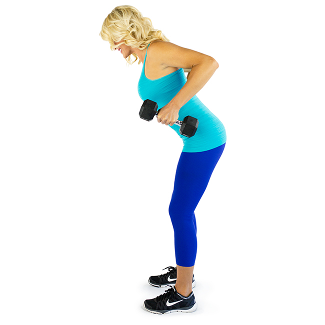 Bent Over Rows Exercise to Remove Back Fat with Pictures