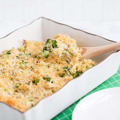 Chicken and Broccoli Quinoa Casserole