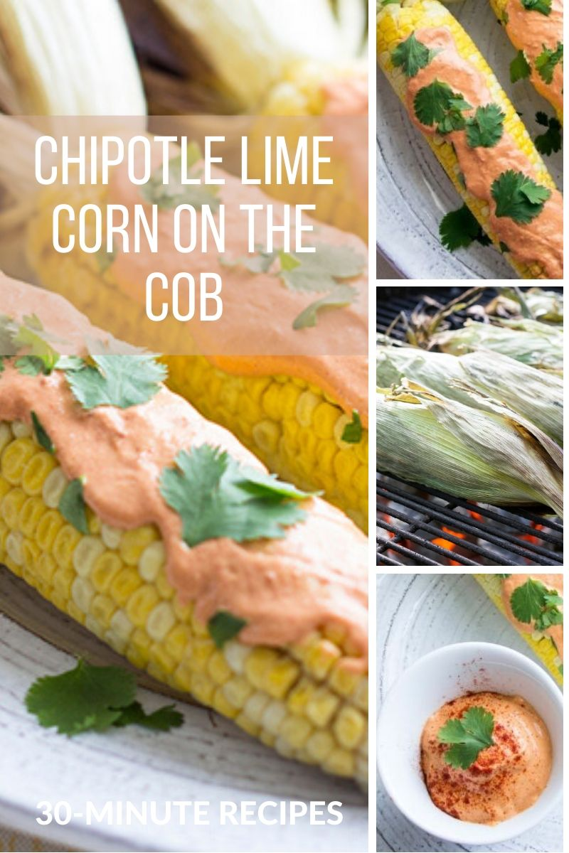 Chipotle Lime Mexican Corn on The Cob Recipe