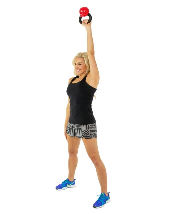 Single Arm Clean Exercises to Remove Back Fat with Pictures