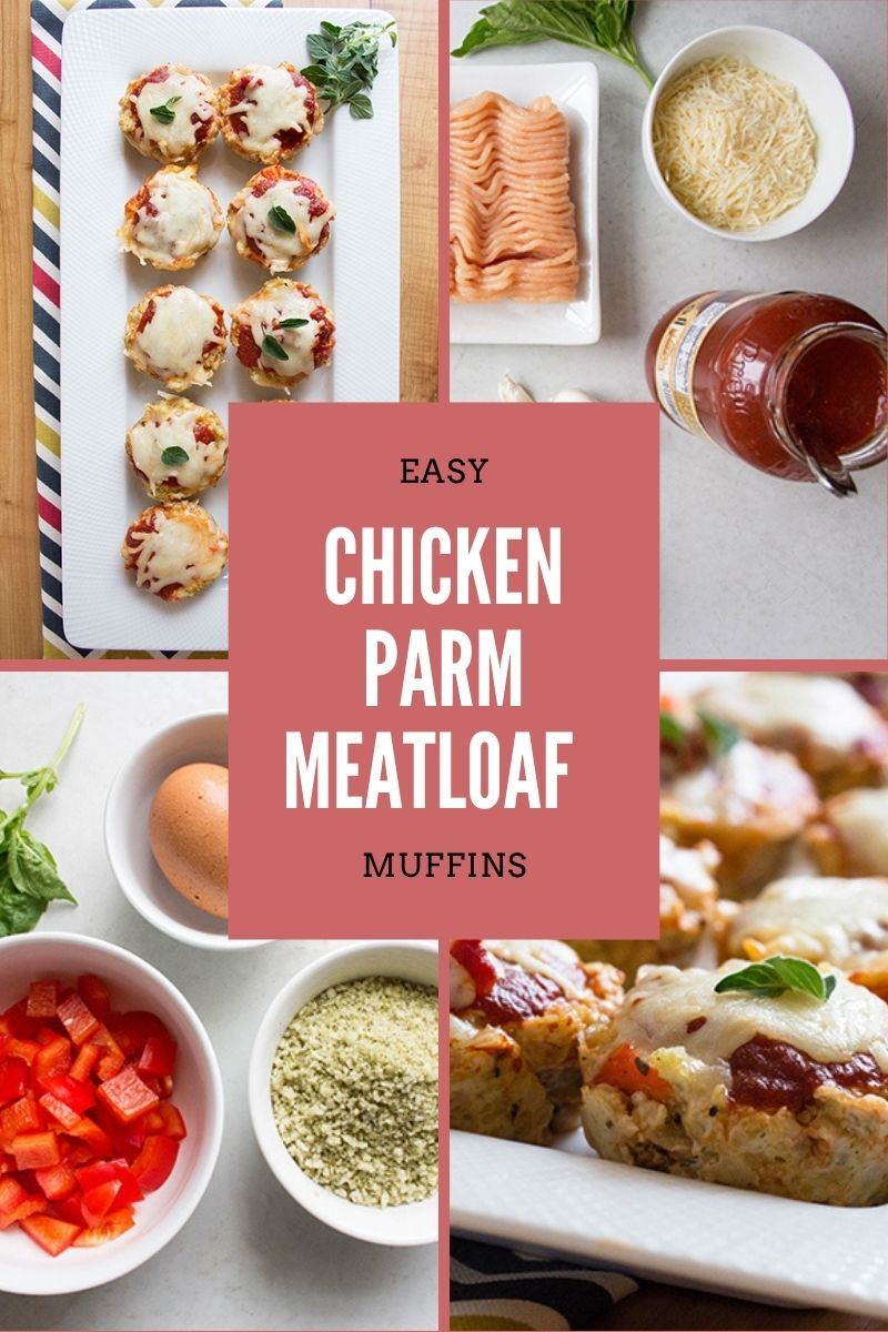 Easy Chicken Parm Meatloaf Muffins