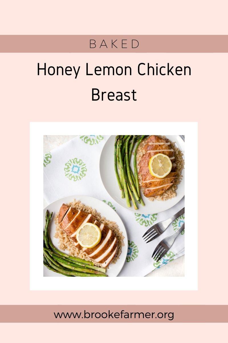 Baked Honey Lemon Chicken Breast