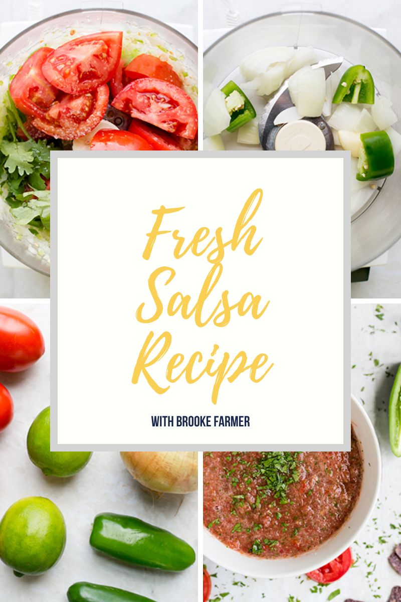 How to Make Fresh Salsa Recipe