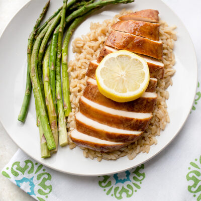 Baked Honey Lemon Chicken Breast