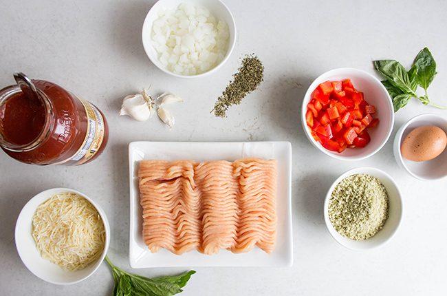 Chicken Parm Meatloaf Ingredients