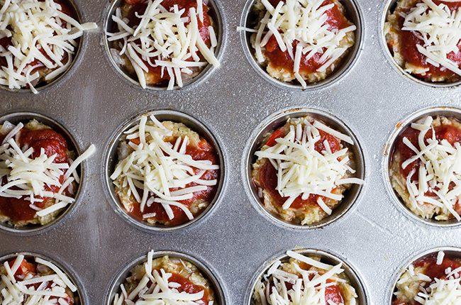 Unbaked Meatloaf Muffins