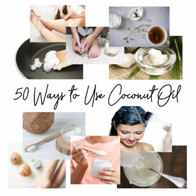 Featured image of 50 ways to use coconut oil