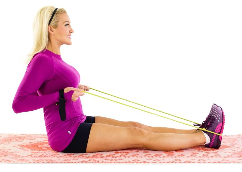 Seated Cable Rows for Moves to Banish Bra Bulge