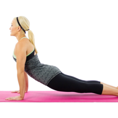 vine pose for 6 stretch and flow moves to do everyday
