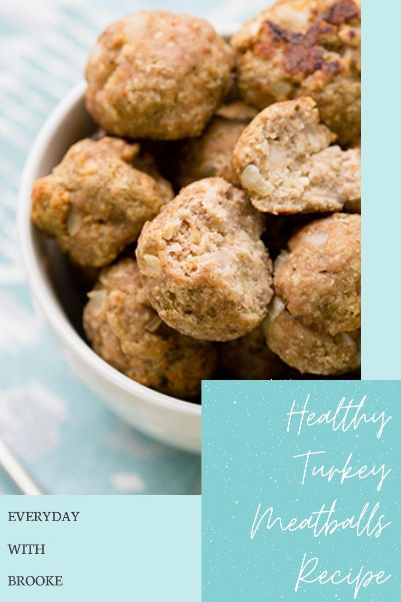 Healthy Turkey Meatballs Recipe