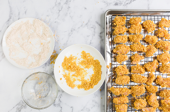 Chicken on Baking Sheet