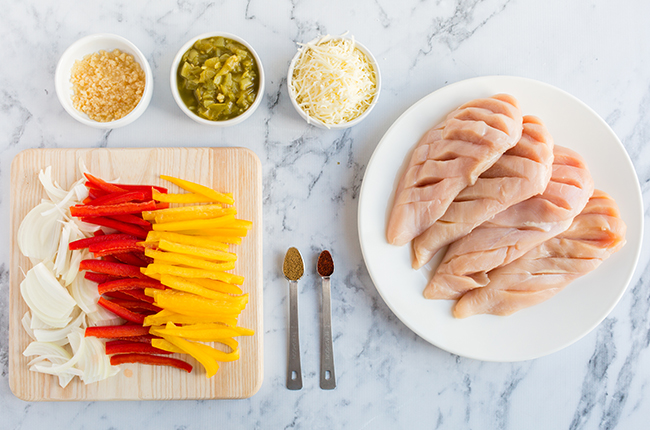 Keto Chicken Ingredients