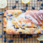 Healthy Lemon Blueberry Loaf