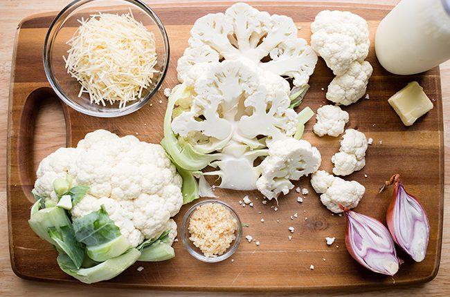 Alfredo Ingredients