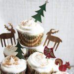 Lightened-Up Eggnog Cupcakes