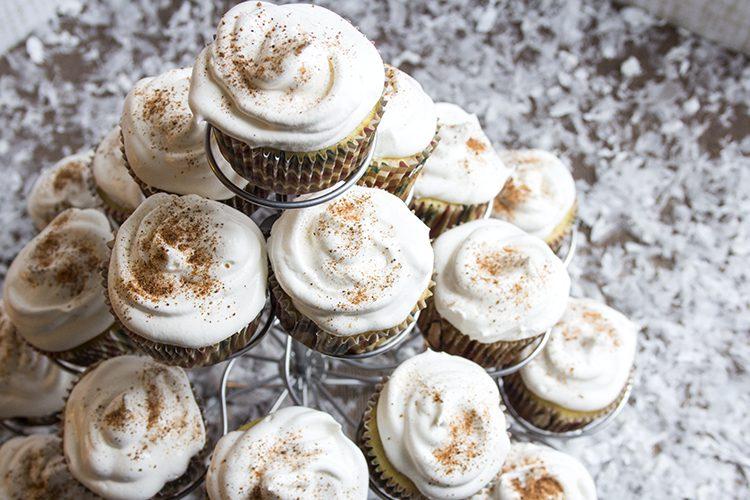 Eggnog Cupcake Stand