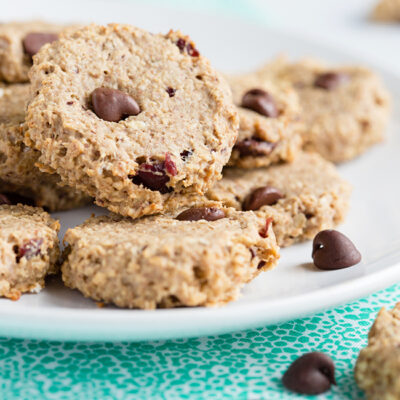 Low Carb Energy Oatmeal Cookies