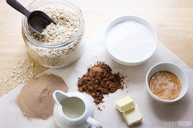 No Bake Cookie Ingredients