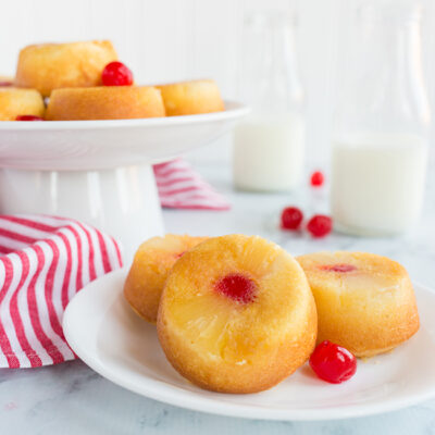 Light and Easy: Mini Pineapple Upside Down Cakes