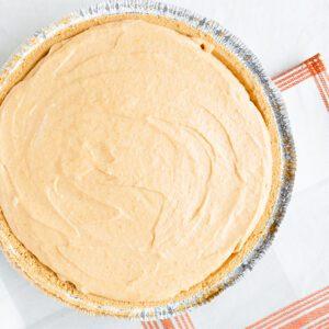 Light and Easy: No-Bake Pumpkin Cheesecake