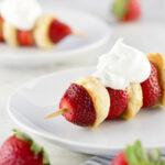 Light and Easy: Strawberry Shortcake Skewers