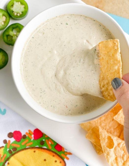 chuy's copycat dip for mexican fiesta
